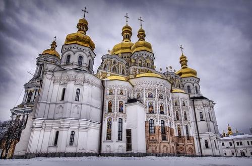 Логотип сайта Украинской Православной Церкви